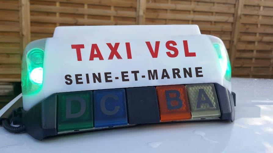 Réserver Taxi conventionné VSL en Seine-et-Marne
